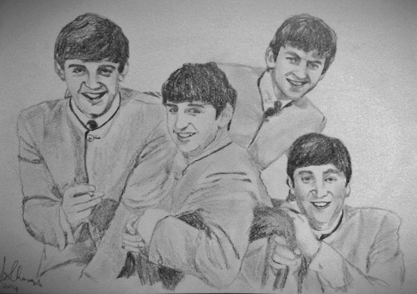 The Beatles by Lindasart